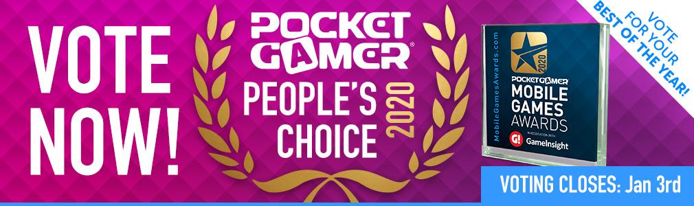 Games Awards 2020.Pocket Gamer People S Choice Awards 2020 Pocket Gamer